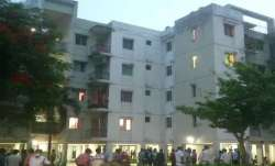 The encounter took place inside a housing society in