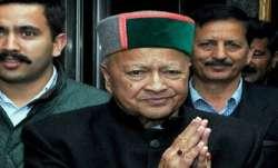 ex-Himachal CM Virbhadra Singh