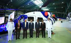 Indian Coast Guard inducts 3 indigenously-built advanced light helicopters ALH MK III