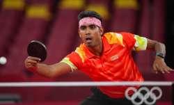 Sharath Kamal of India