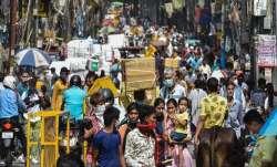 delhi's tilak nagar market shut