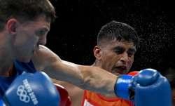 Boxer Manish Kaushik