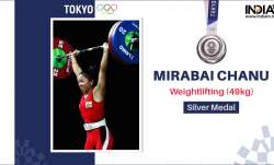 Weightlifting: Mirabai Chanu creates history; wins silver medal in Tokyo Olympics 49kg category