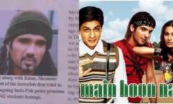 Hilarious newspaper clip ft. Suniel Shetty from Main Hoon
