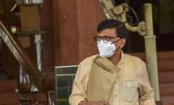 sanjay raut questions funding on pegasus snooping