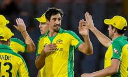 WI vs AUS 1st ODI   Mitchell Starc takes five wickets as Australia beat West Indies by 133 runs