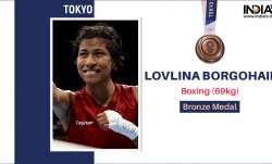 Lovlina Borgohain of India