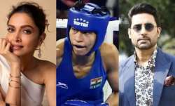 Deepika Padukone-Abhishek Bachchan & others cheer for Lovlina Borgohain on her Olympics win