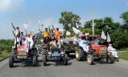 bharat bandh, farmers protests, farmer dies, singhu border, farm laws