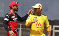 Clash of Titans: RCB vs CSK IPL 2021 - Captain Kohli vs Mentor Dhoni, all you need to know