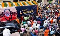 Narendra Giri death case: CBI files application for Anand Giri's custody