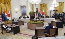 pm modi in us, Quad summit, PM Modi Joe Biden meeting, what is Quad, China reaction
