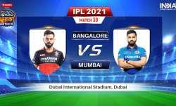 RCB vs MI Live Streaming IPL 2021: How to Watch Royal Challengers Bangalore vs Mumbai Indians Live O