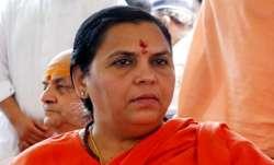 Uma Bharti says she will improve her language after