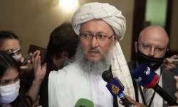 Deputy PM Taliban Abdul Salam Hanafi (FILE)