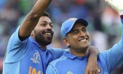Hardik Pandya opens up on relationship with 'brother' MS Dhoni; 'He's the only person who can make m