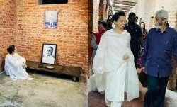 Kangana Ranaut pays gratitude to Veer Savarkar ji as she