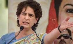 Priyanka Gandhi vadra, Pratigya yatras, flagging off of  Pratigya yatras, Uttar Pradesh, latest nati
