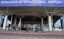 Srinagar international flights