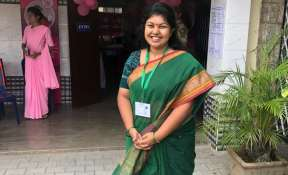 Sowmya Reddy on the day voting day