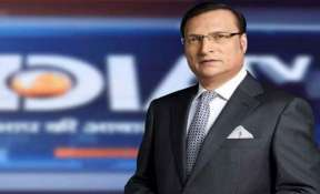India TV Editor-in-Chief and Chairman Rajat Sharma.