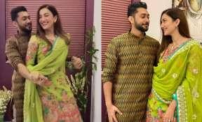 Watch Bigg Boss 14's Gauahar Khan and her fiance Zaid Darbar adorable dance on Bole Chudiyaan