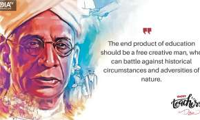 The end product of education should be a free creative man, who can battle against historical circum