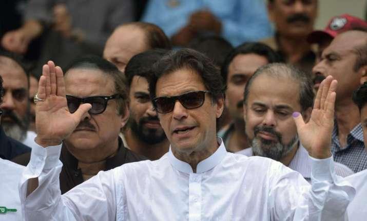 PTI Chief Imran Khan.