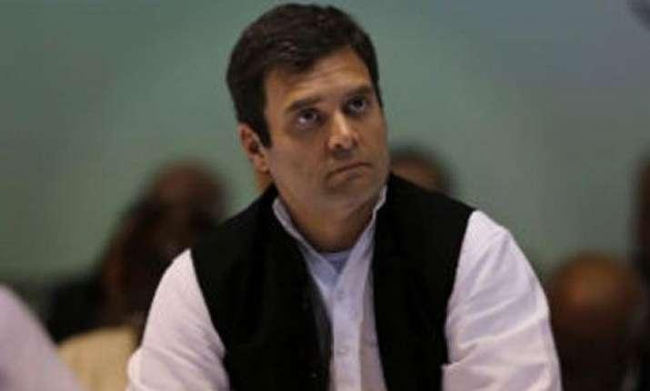 File photo of Rahul Gandhi