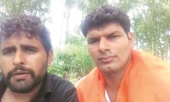 The two men identified themselves as Darwesh Shahpur and