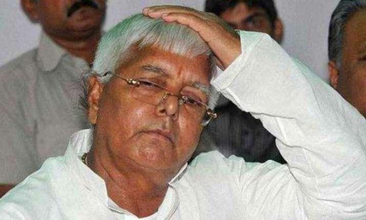 RJD chief Lalu takes jibe at BJP-JDU's seat sharing