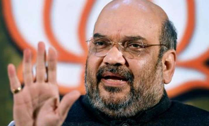 Amit Shah said no one can stop BJP from going ahead with