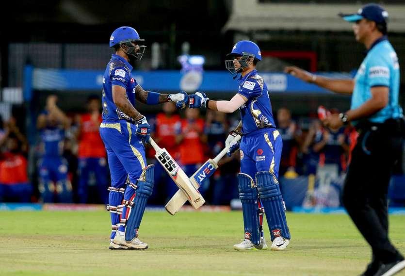 आईपीएल इंदौर मुंबई की जीत
