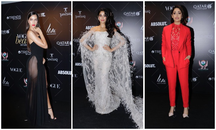 Vogue Beauty Awards 2018: Janhvi Kapoor, Nora Fatehi, Yami