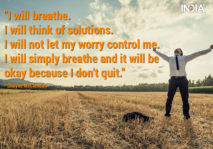 Have Faith In Tomorrow For It Can Bring Better Days: How To Reduce Stress Inspirational Quotes Best Quotes