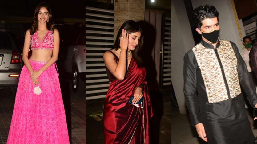 Diwali Bash: Ananya Panday, Kritika Kamra to Manish Malhotra, celebs stunned at Bunty Sachdeva's party