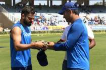 Virat Kohli's India wear special military caps in Ranchi ODI as a tribute to Pulwama martyrs