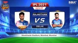 Live IPL 2021 Match RR vs DC: Watch Rajasthan Royals vs Delhi Capitals Live Online on Hotstar