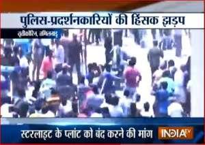 12anti-Sterlite protestors die in police firing