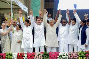 Top opposition leaders will meet in New Delhi on Monday to