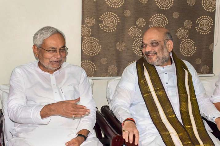 Bihar Chief Minister Nitish Kumar and Bharatiya Janata