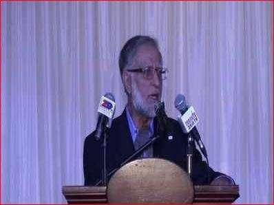 Zafar Bangash- File pic