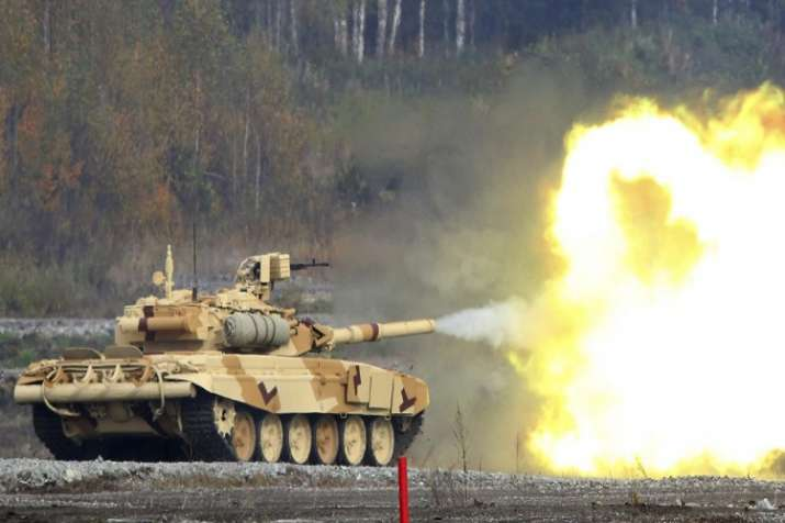 The Russian army is also rolling out all of its latest