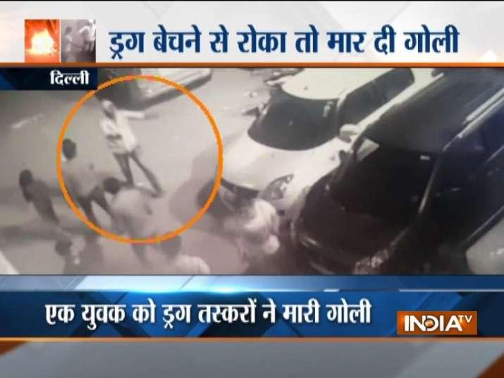Delhi: Situation tense after alleged drug dealers shoot