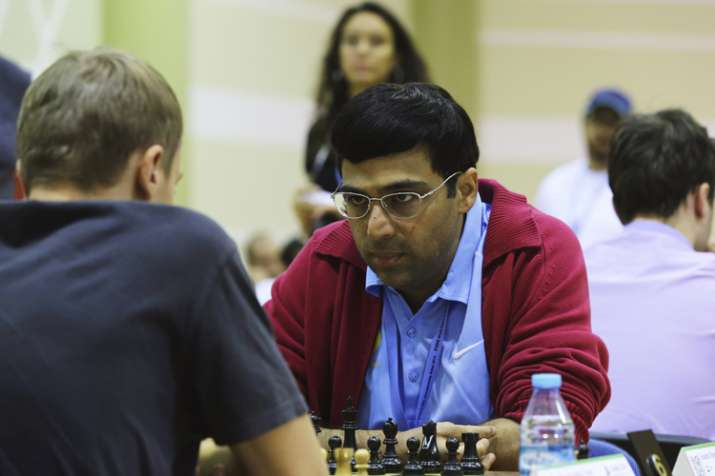 Anand, however, picked up his first point of the event. He