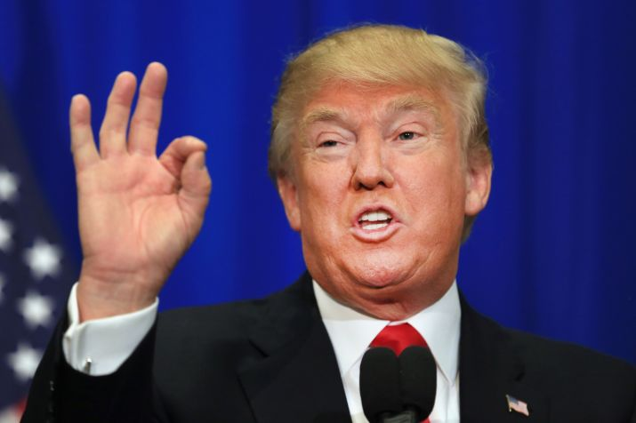 US President, Donald Trump