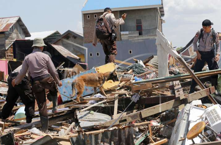 Indonesia earthqake, tsunami death toll reaches 1407