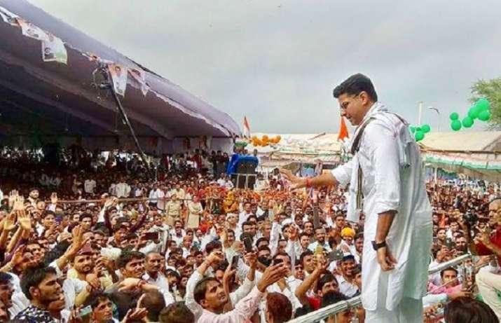Congress state president Sachin Pilot has emerged as