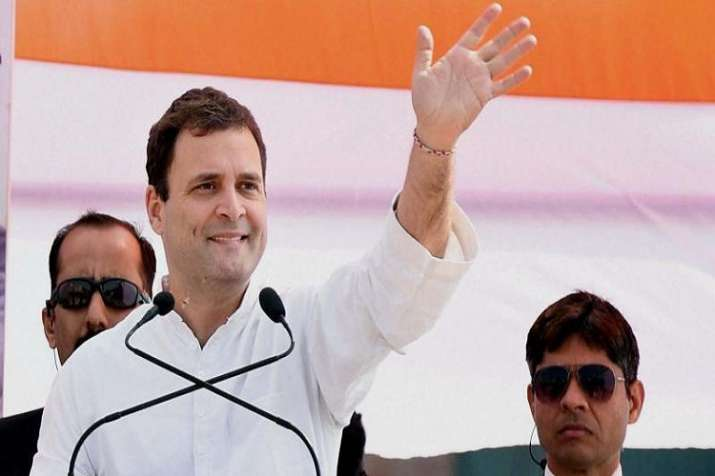 Rahul Gandhi promises farm loan waiver in Chhattisgarh