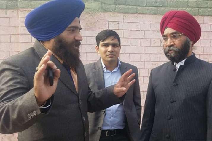 Indian Diplomat Ranjit singh (right) (Photo/ANI)